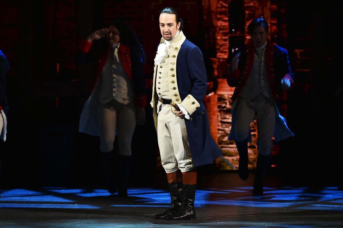Lin-Manuel Miranda of 'Hamilton' performs onstage during the 70th Annual Tony Awards at The Beacon Theatre on June 12, 2016 in New York City.   Photo by Theo Wargo/Getty Images