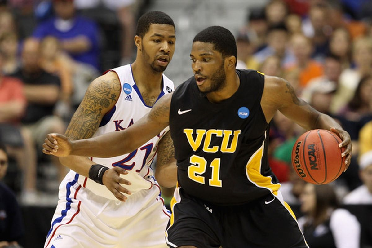Perhaps no player benefited more from a Final Four run than VCU's Jamie Skeen.  (Photo by Jamie Squire/Getty Images)