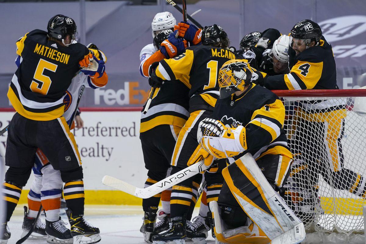 NHL: MAR 29 Islanders at Penguins