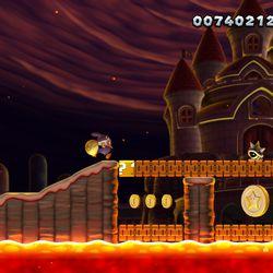 Peach S Castle Star Coins Locations New Super Mario Bros U Deluxe Guide Polygon