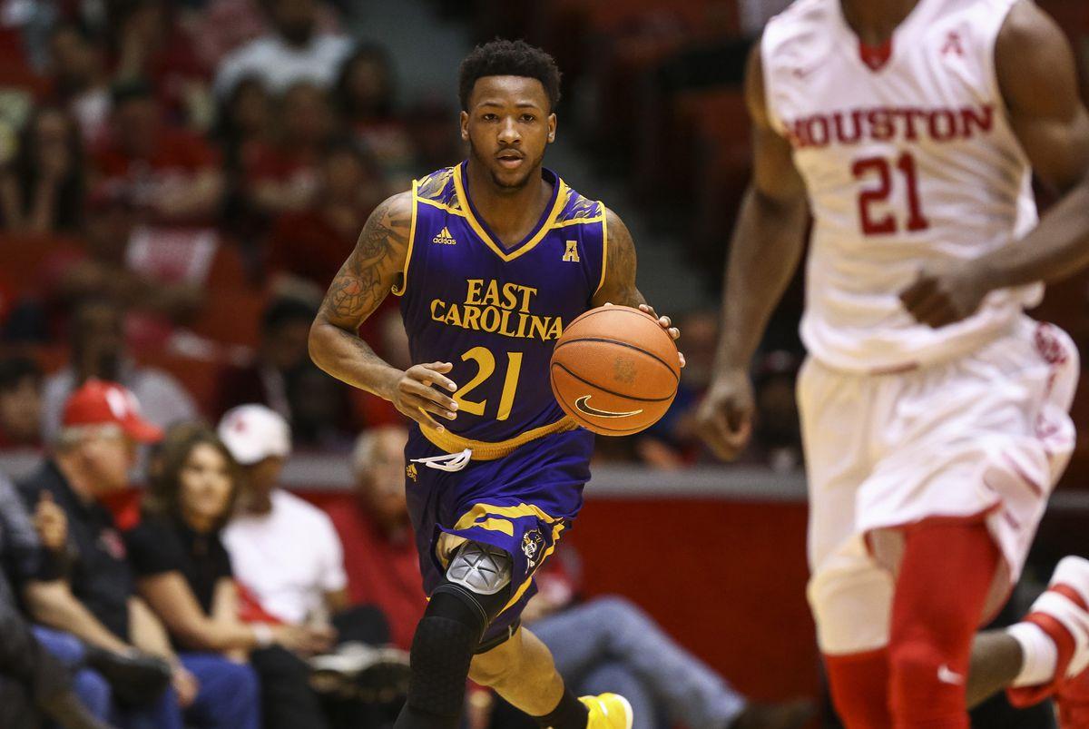 NCAA Basketball: East Carolina at Houston