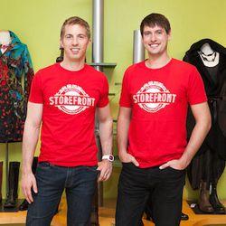 Storefront co-founders Erik Eliason and Tristan Pollock.