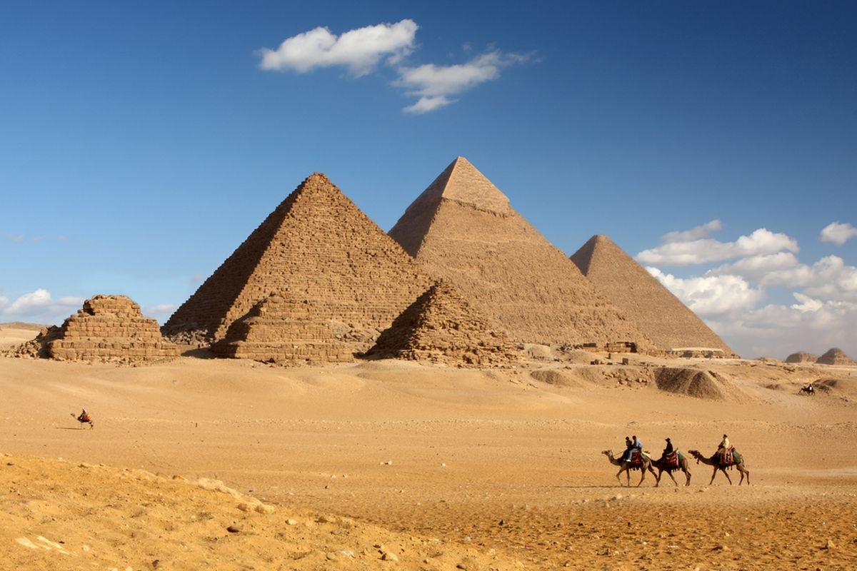 Engineer argues Egyptian pyramid decay is due to centuries of