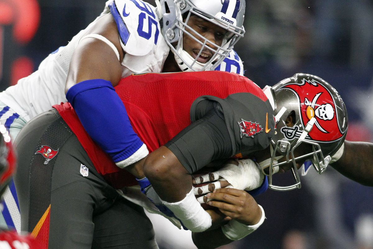 dfc28958c The Cowboys unleashed a pass rusher they didn t know they had against the  Buccaneers