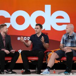 Casey Newton (Silicon Valley Editor, The Verge), Adam Mosseri (Head of Instagram, Facebook), Andrew Bosworth (Vice President of AR/VR, Facebook)