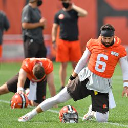 August 2020: Training camp officially started in mid-August for the Browns and the rest of the teams in the NFL. It was a late start, but preseason games were cancelled to make room for more practice time.