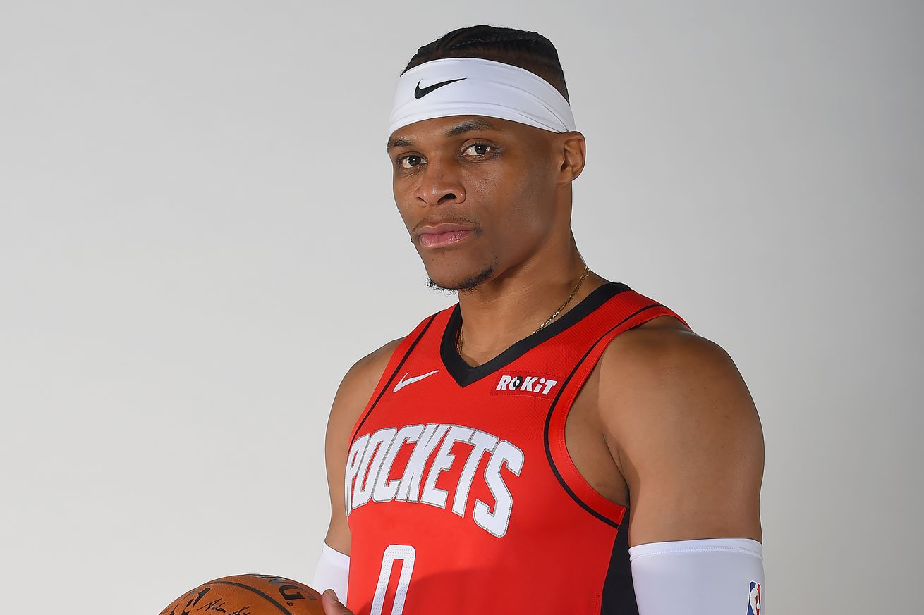 Houston Rockets Introduce Russell Westbrook - Portraits