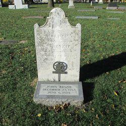 John Kinzie's gravesite