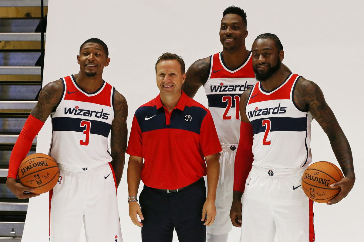 30ab289ed70 The Wizards are embracing a new challenge as underdogs fighting to stay  relevant