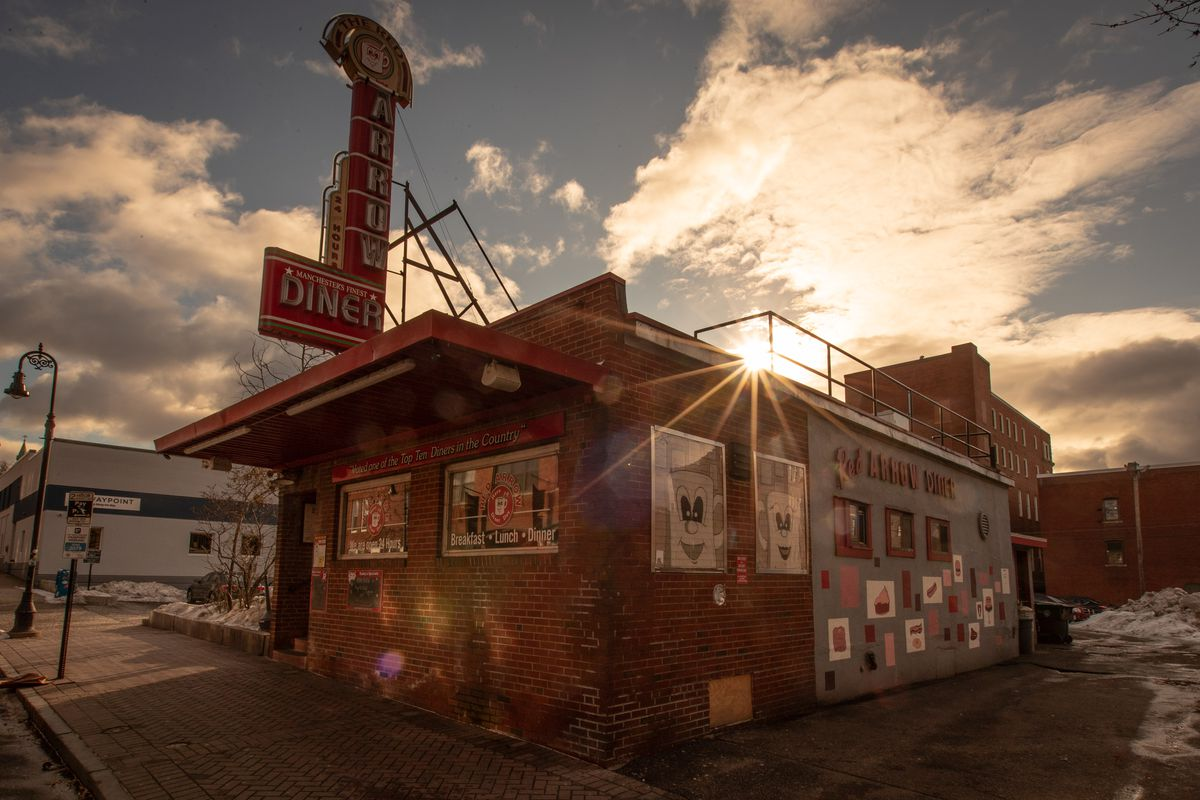The Red Arrow Diner exterior