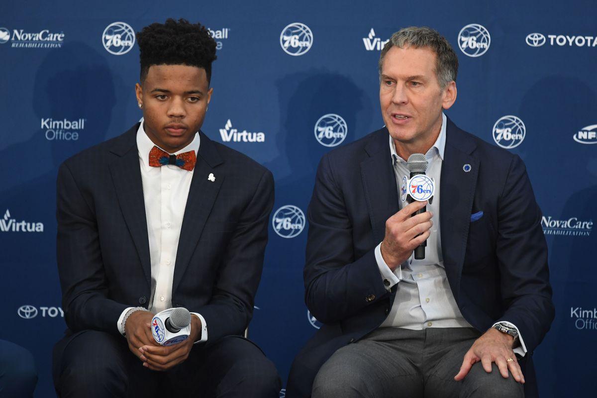 NBA: Philadelphia 76ers-Press Conference