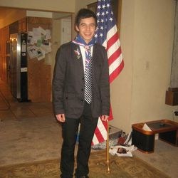 David Archuleta received his Eagle Scout Award in December 2010, two years after he completed it.