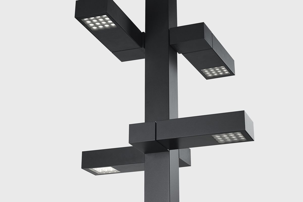 Dean Skira Designs Polesano Street Lamp For Delta Light Curbed