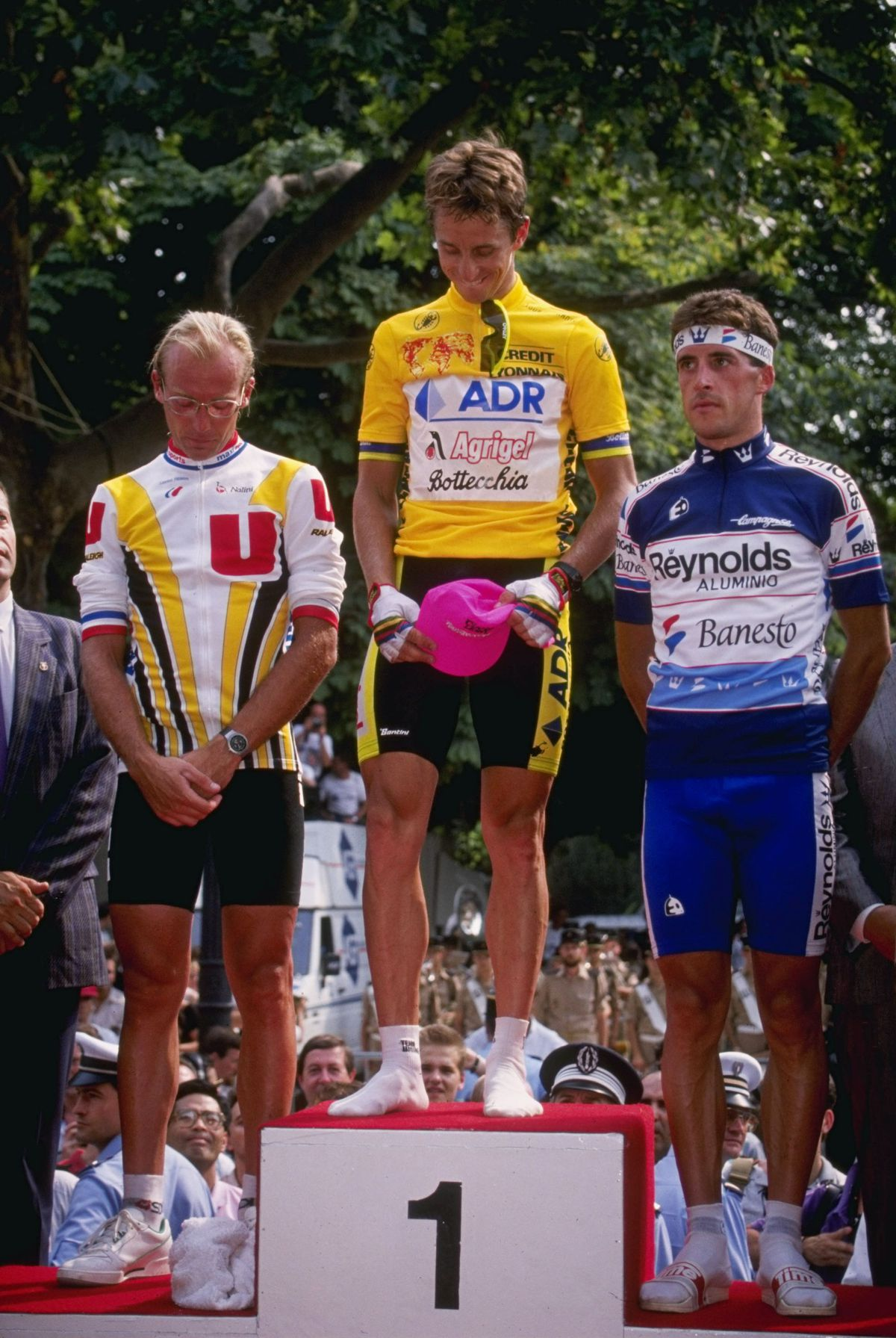 Tour de France 1989: from last in the prologue ITT to the bottom step of the podium.