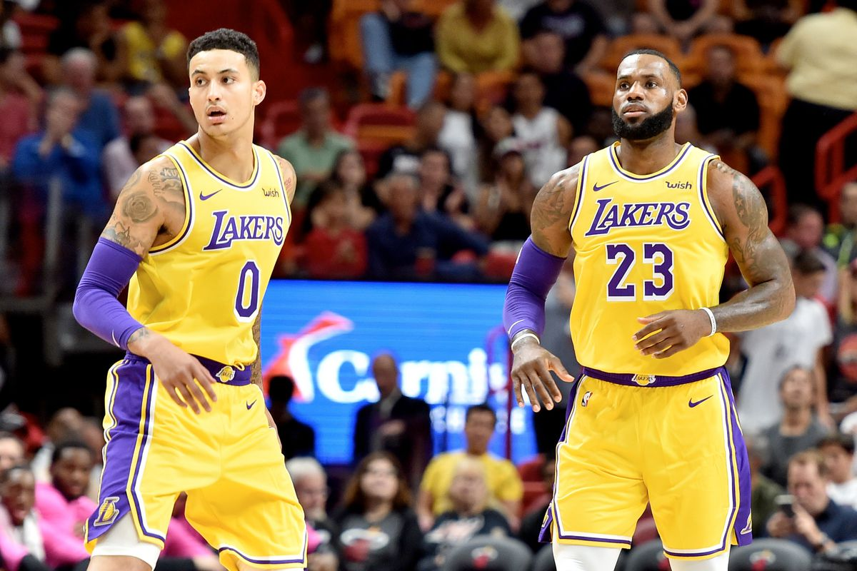 427a6105933 Kyle Kuzma, LeBron James and Brandon Ingram think the Lakers 'hashed it  out' with Magic Johnson and are moving past trade rumors. New ...