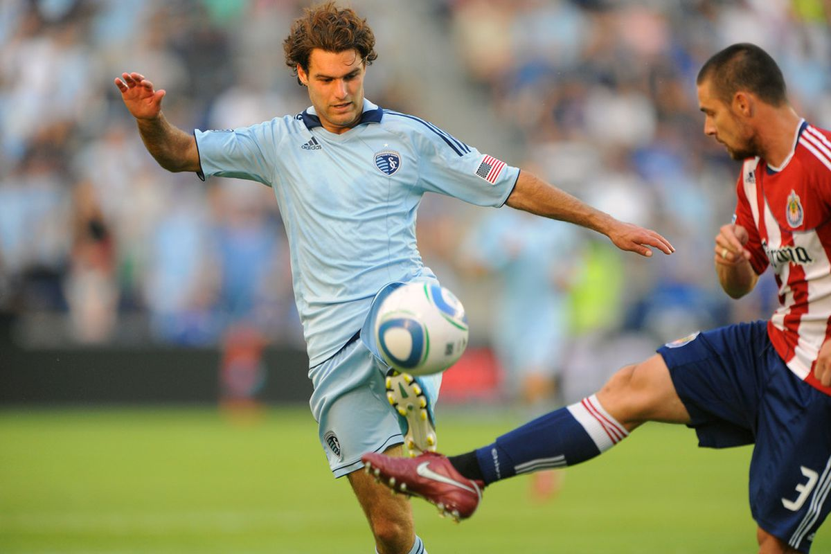 Graham Zusi suiting up for the USMNT might not be as far fetched as first believed. (Photo by G. Newman Lowrance/Getty Images)