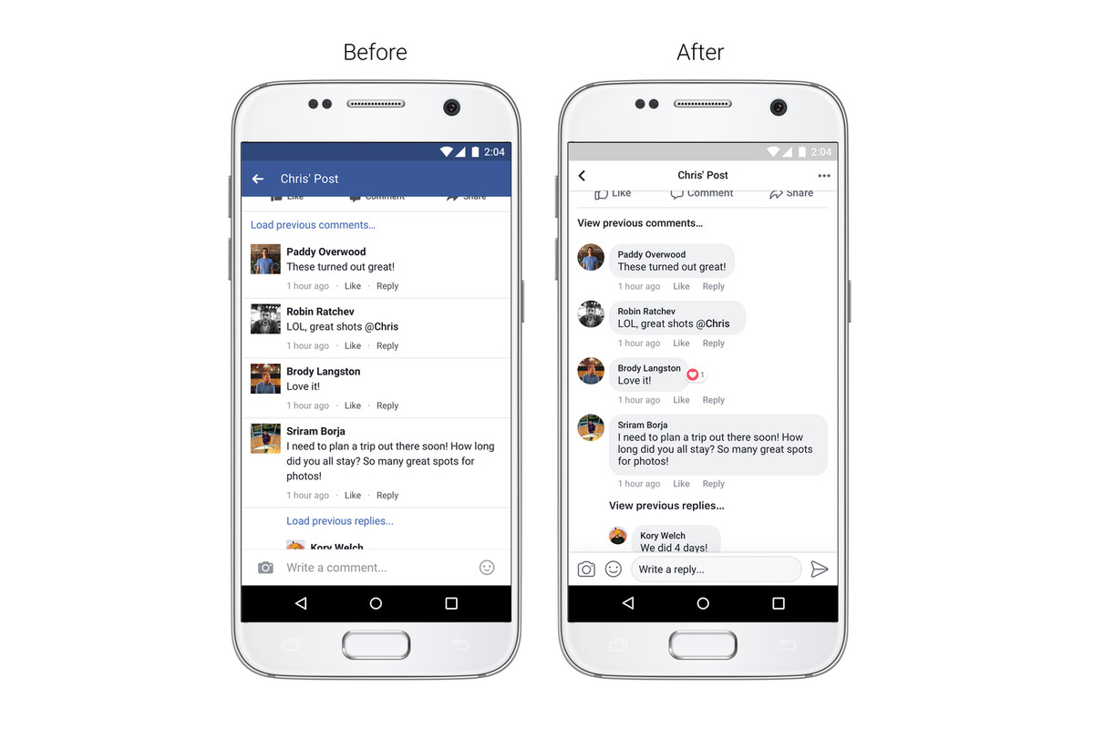 Facebook Redesign Nixes The Blue Profile Header And Adds Circular
