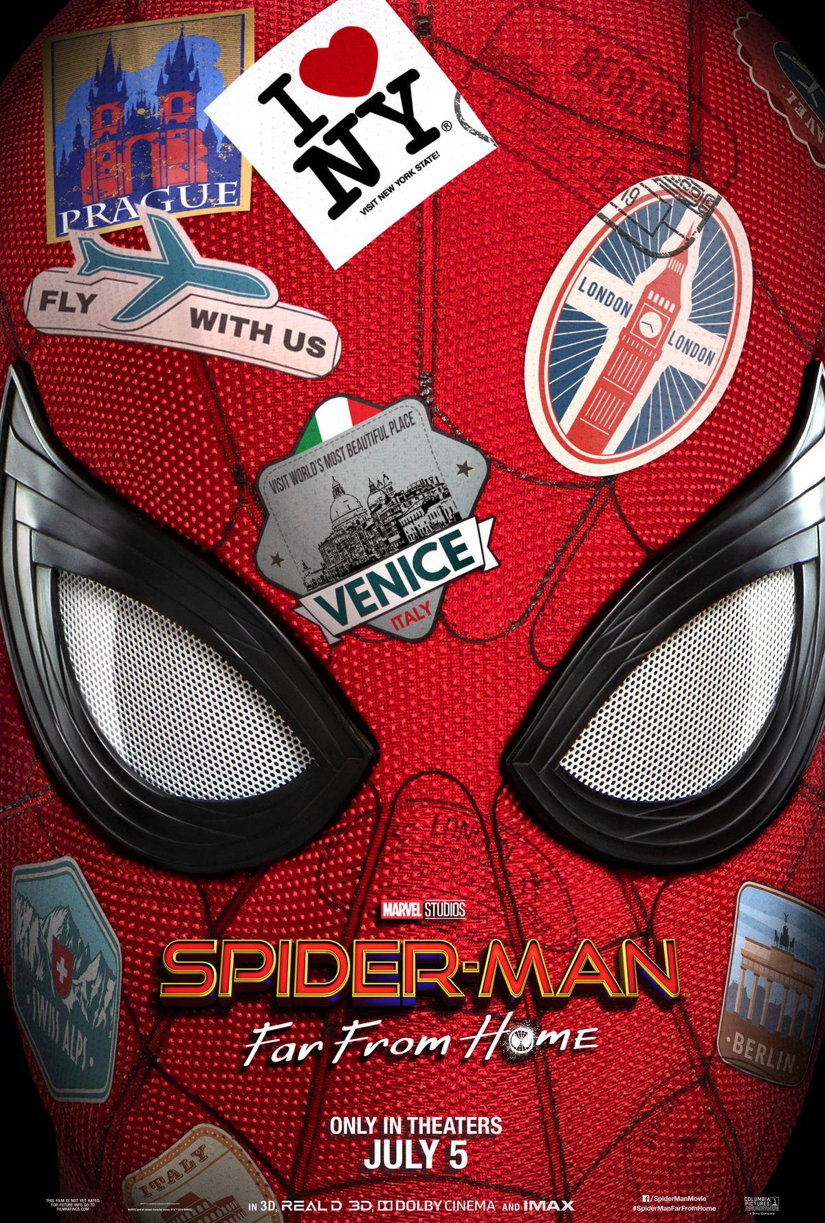 第一个蜘蛛侠:远离家庭的预告片让Jake Gyllenhaal的Mysterio成为一个宏伟的入口