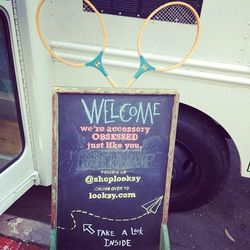 Looksy can customize this board to call out whatever event you're hosting.