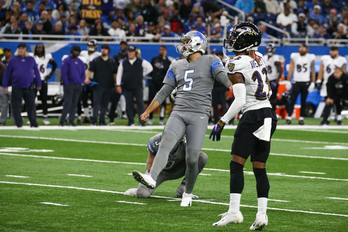 NFL: SEP 26 Ravens at Lions