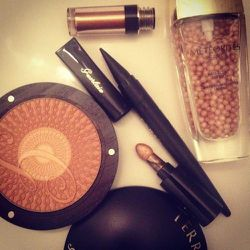 """I'm desperately in need of a little glow this morning, so I'm reaching for these <b>Guerlain</b> <a href=""""http://www.bergdorfgoodman.com/search.jsp?N=4294930322&_requestid=35493&Ntt=Guerlain"""">glow-getters</a>."""