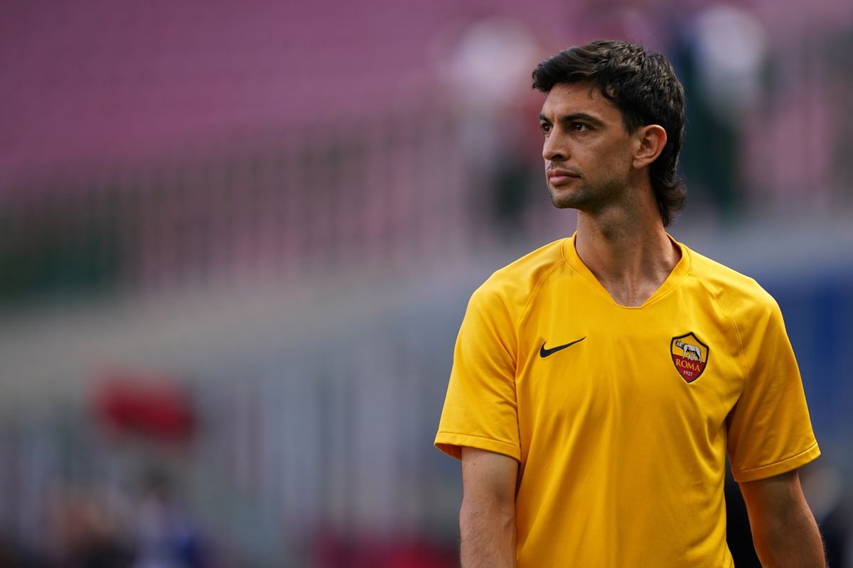 Javier Pastore of As Roma during the Serie A match...