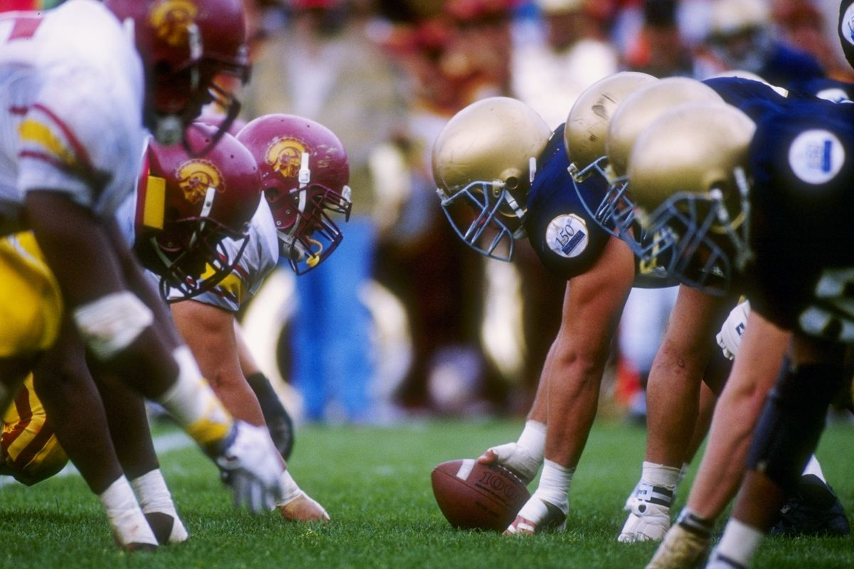 Notre Dame Football Depth Chart For Southern Cal