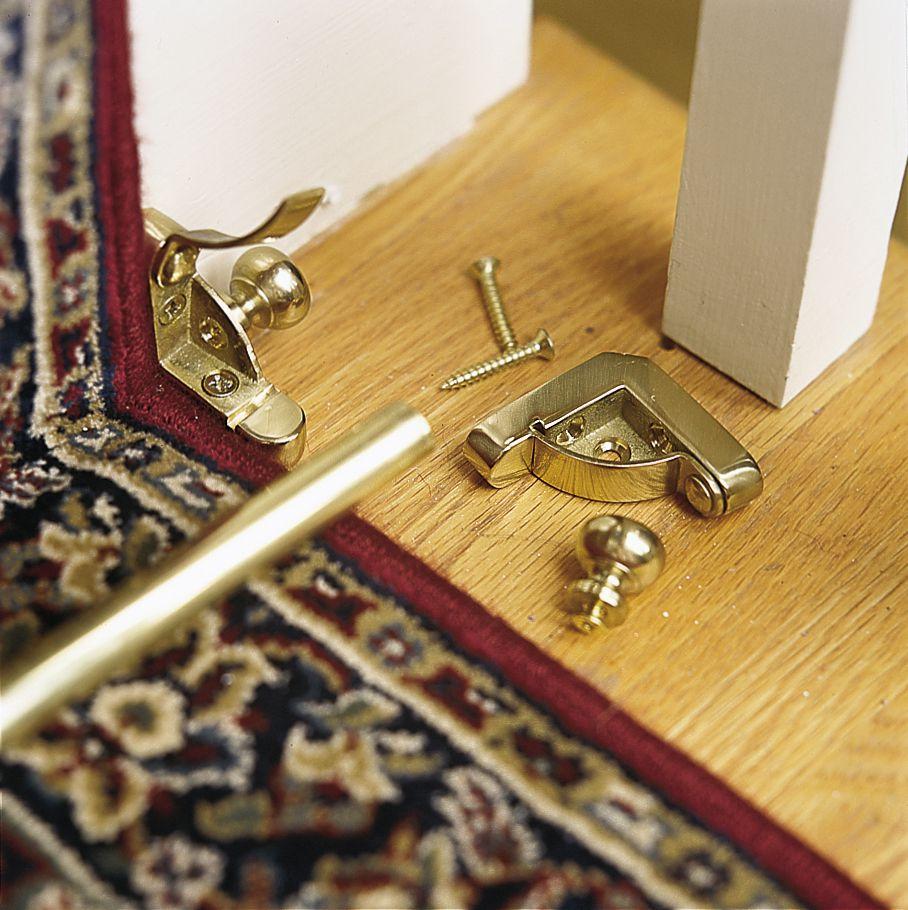 Rod Installation For Carpet Runner
