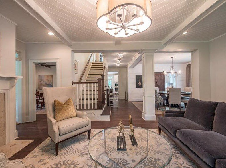Where Buckhead Meets Midtown Refreshed 1920s Bungalow Wants