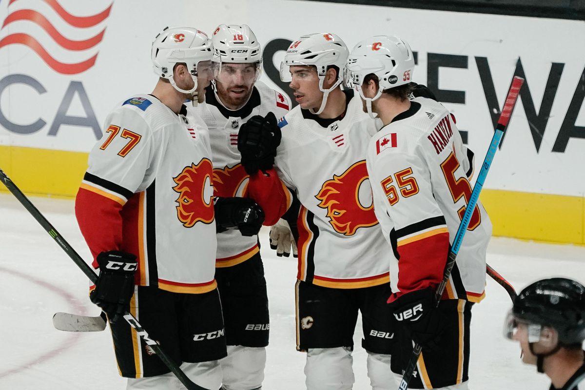 NHL: Preseason-Calgary Flames at San Jose Sharks