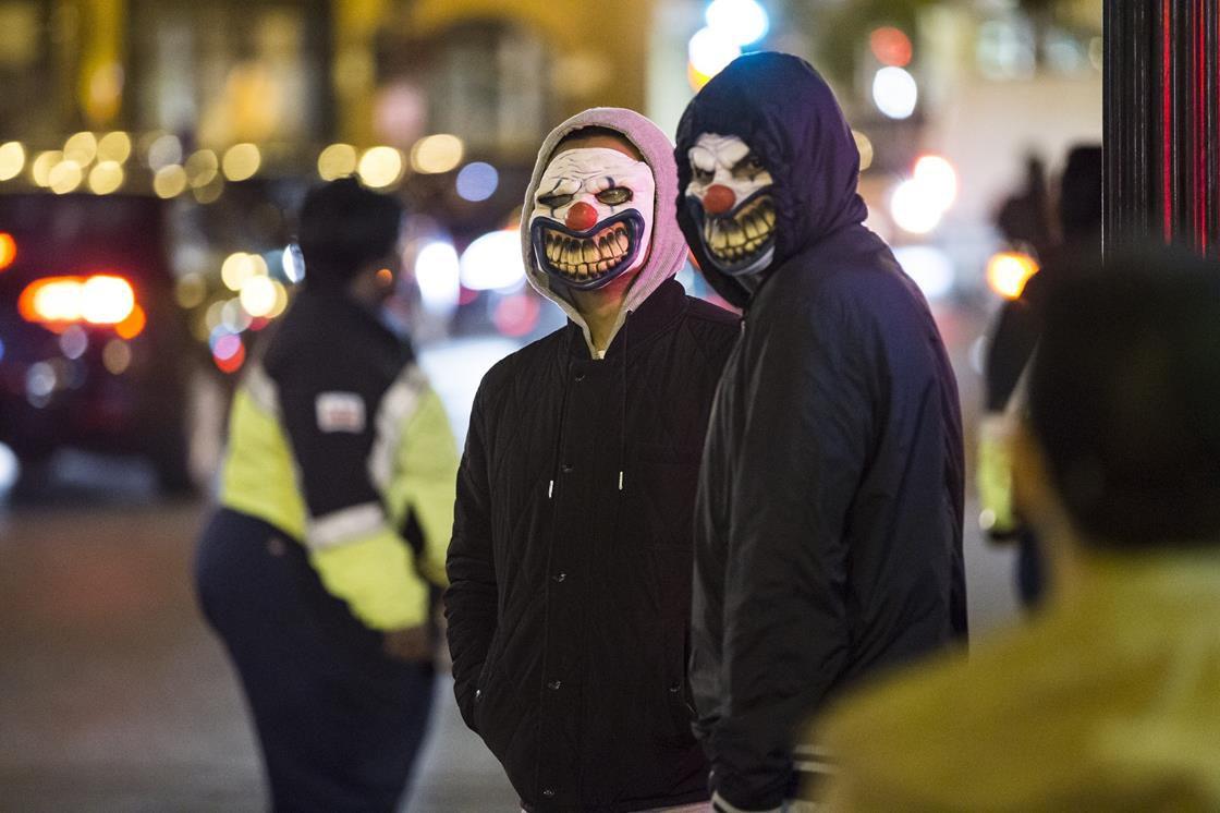 Terrifying clowns