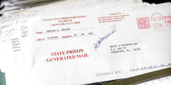 Inmate ads women personal Prison Penpal