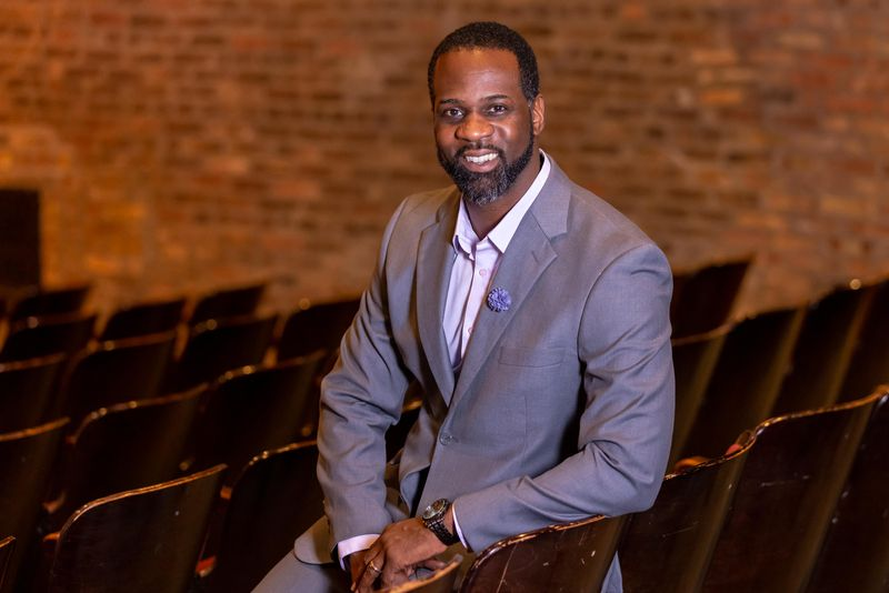 Christopher Chase Carter is the new artistic director of Mercury Theater Chicago.