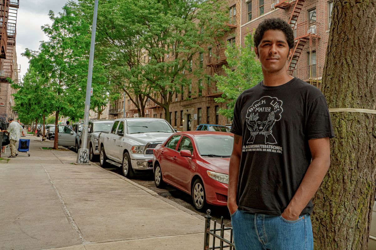 Ronnie Almonte, 32, paid $125 for a rapid COVID test in Brooklyn.