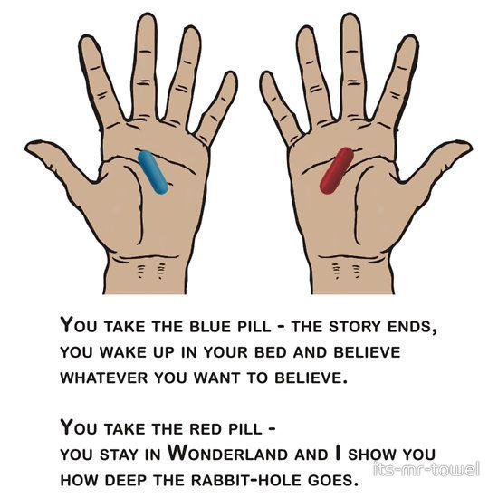 blue pill red pill w credit