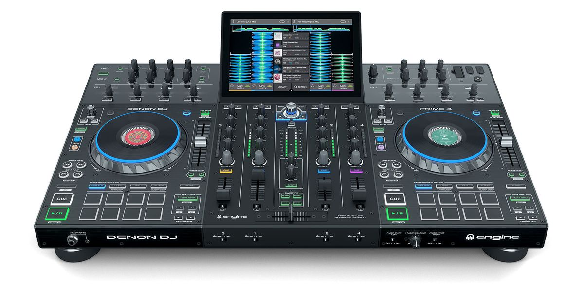 QnA VBage Denon DJ's new four-channel standalone unit shows commitment to battling Pioneer DJ