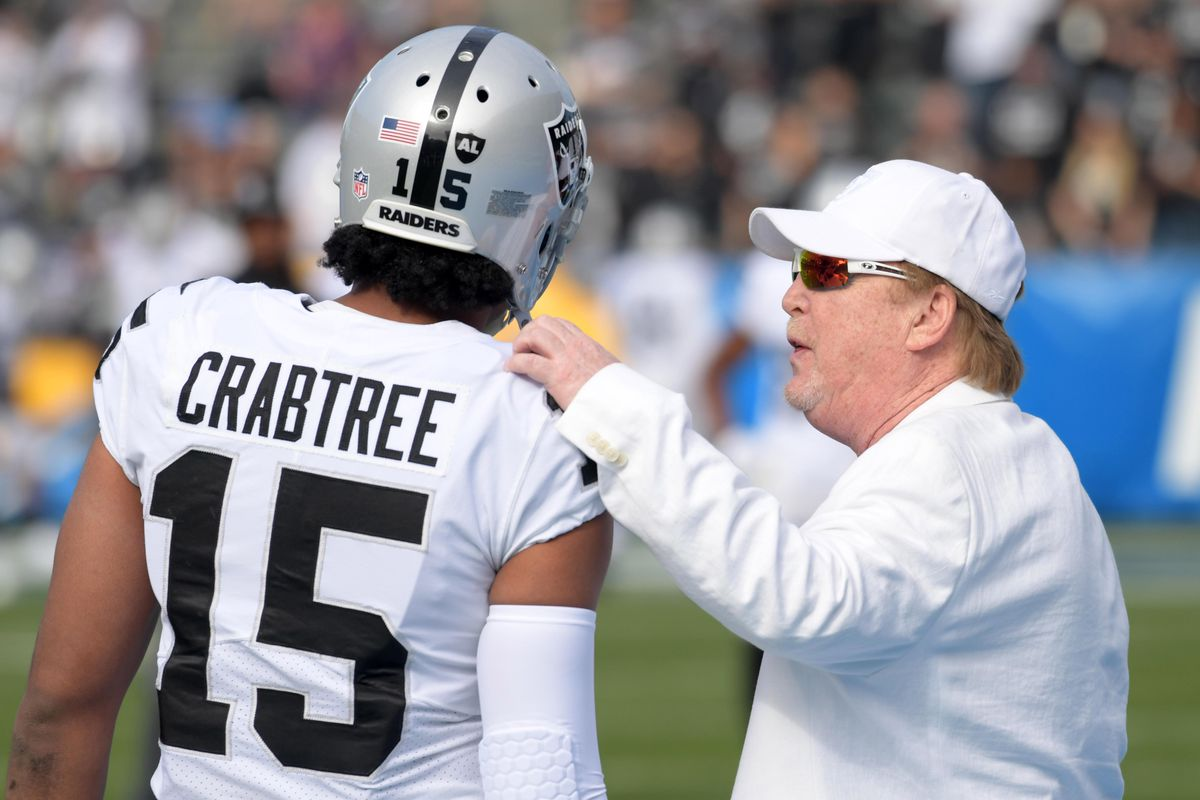 Raiders Release WR Michael Crabtree