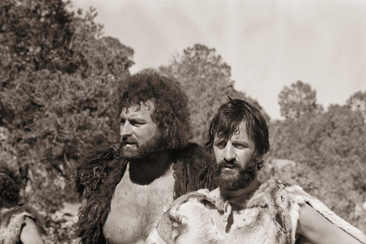 Matuszak, left, with Ringo Starr (GettyImages)
