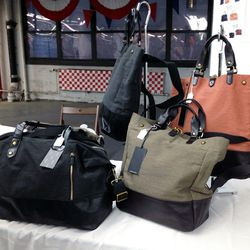 Eayrslee bags. The Jones duffel, on the left, was $280 (down from $378)