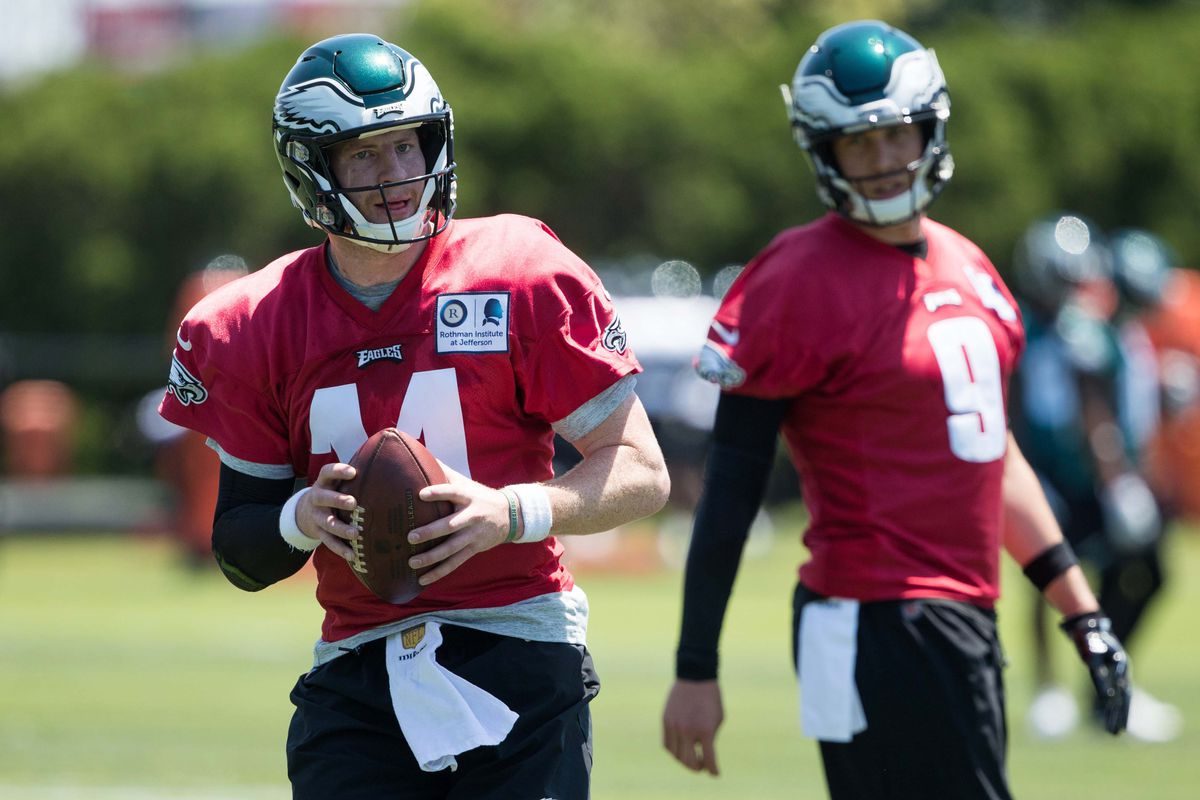 best sneakers 19f55 251a4 Eagles News: Nick Foles says going back to the bench is ...