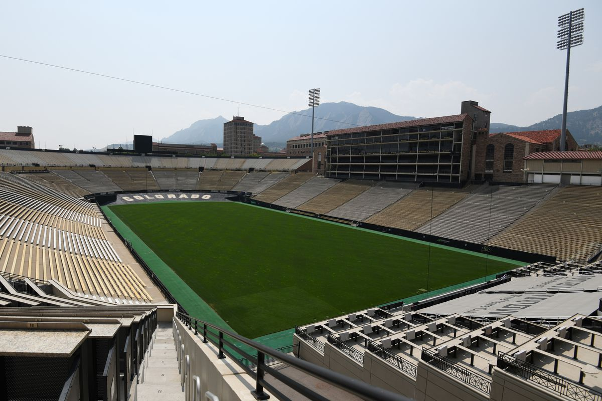 Folsom Field, Colorado Buffaloes, football,