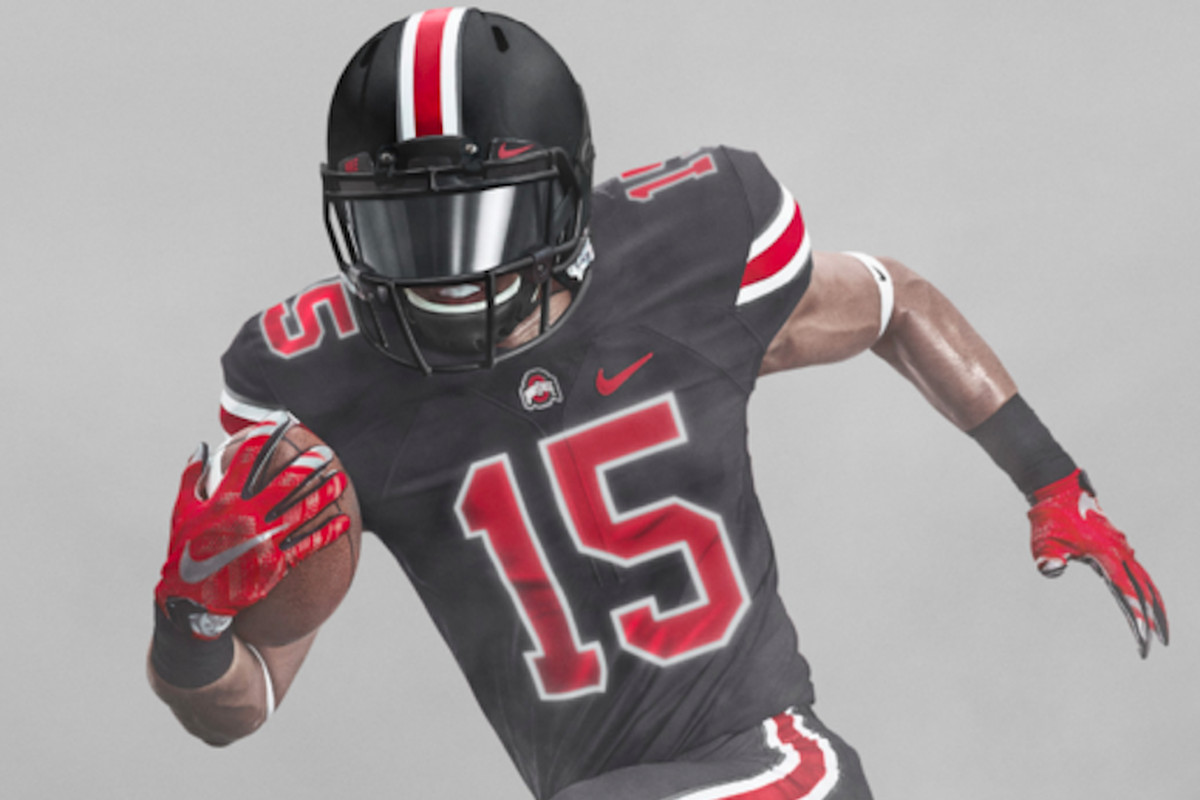 new product 2a97c f3122 Ohio State's first-ever black football uniform officially ...