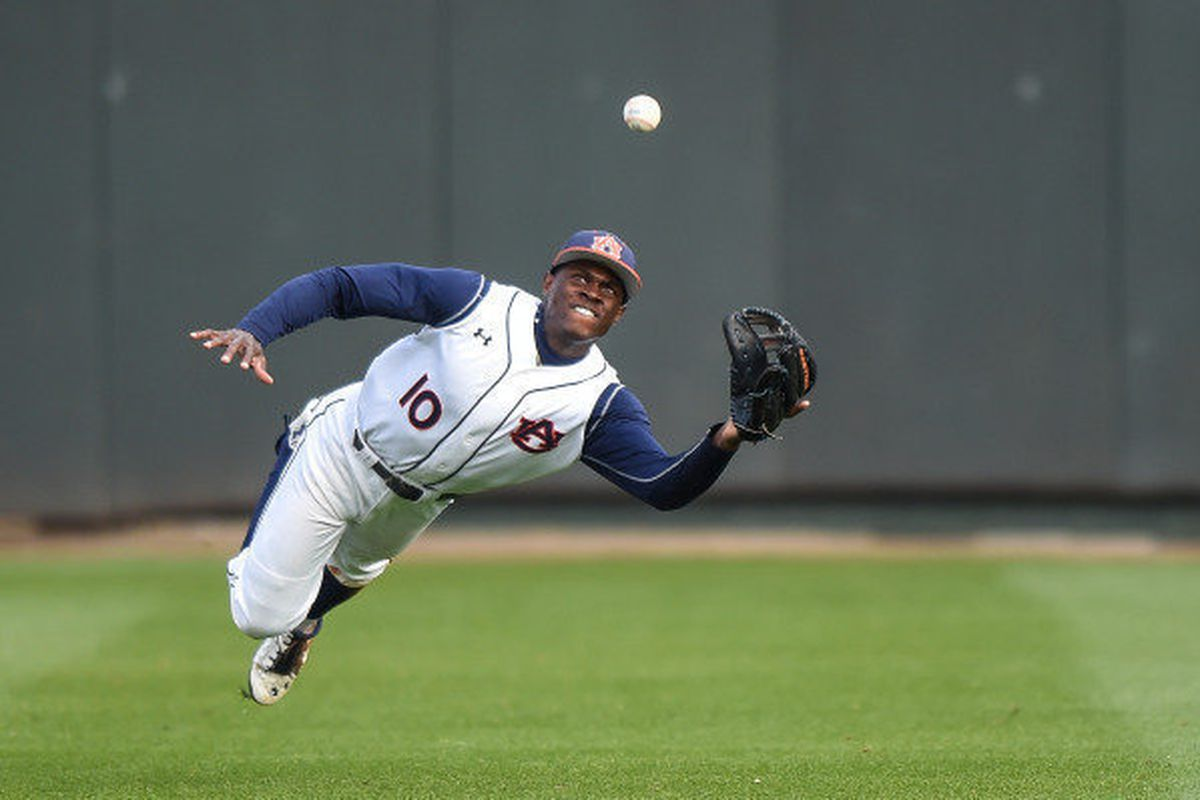 Not the player the Angels are going to draft, but the keen athleticism the system sorely needs.