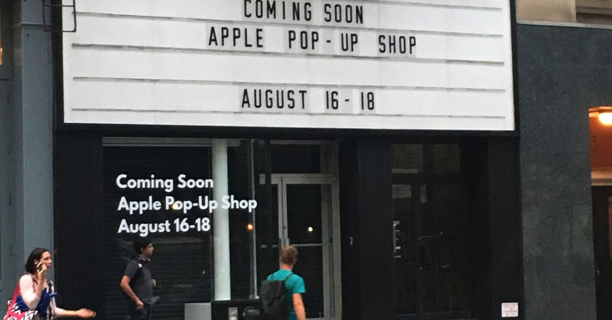 Don't Be Fooled by NYC's New 'Apple' Pop-up Shop