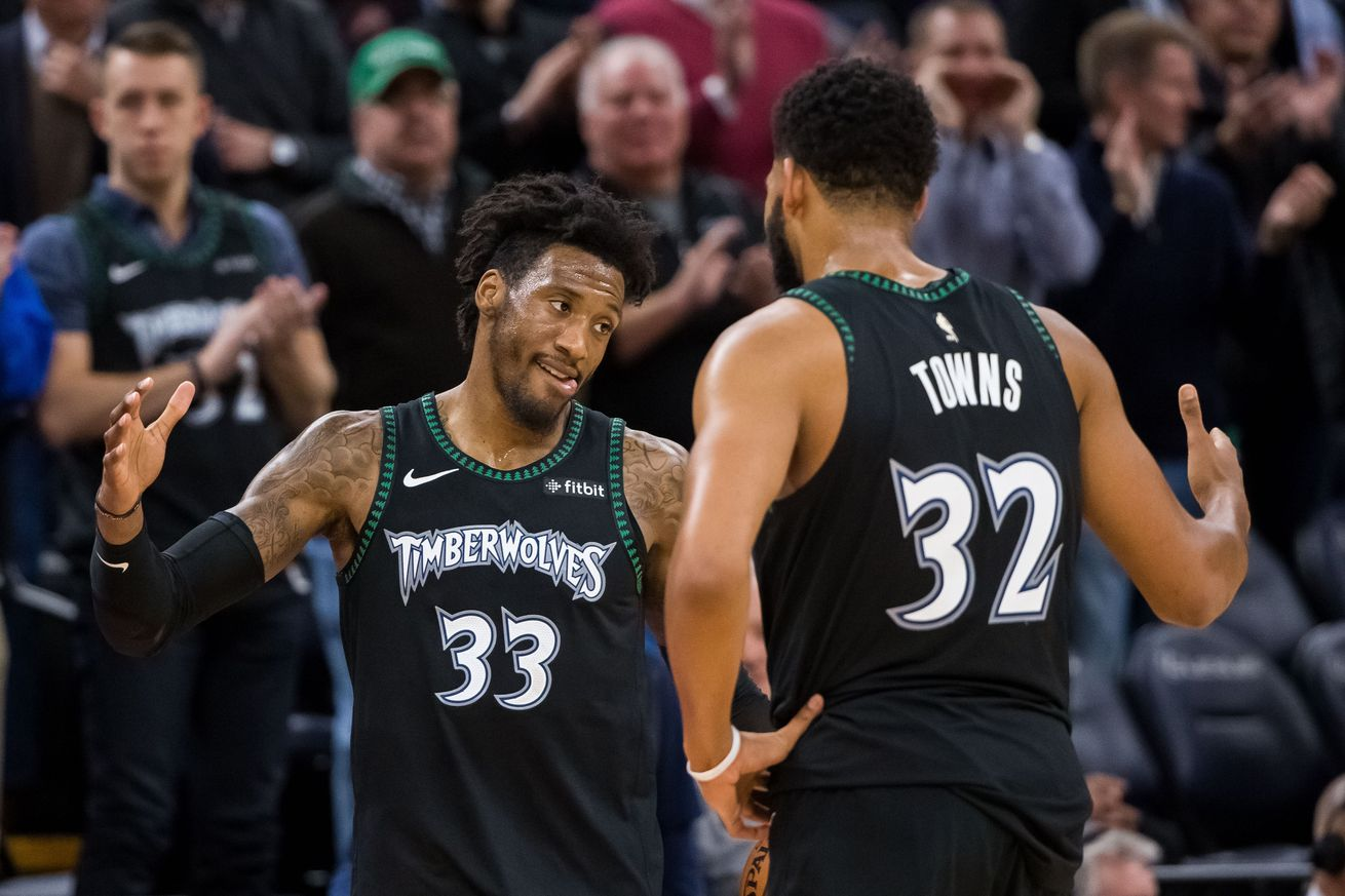 Robert Covington Is The Perfect Defensive Partner For Karl-Anthony Towns