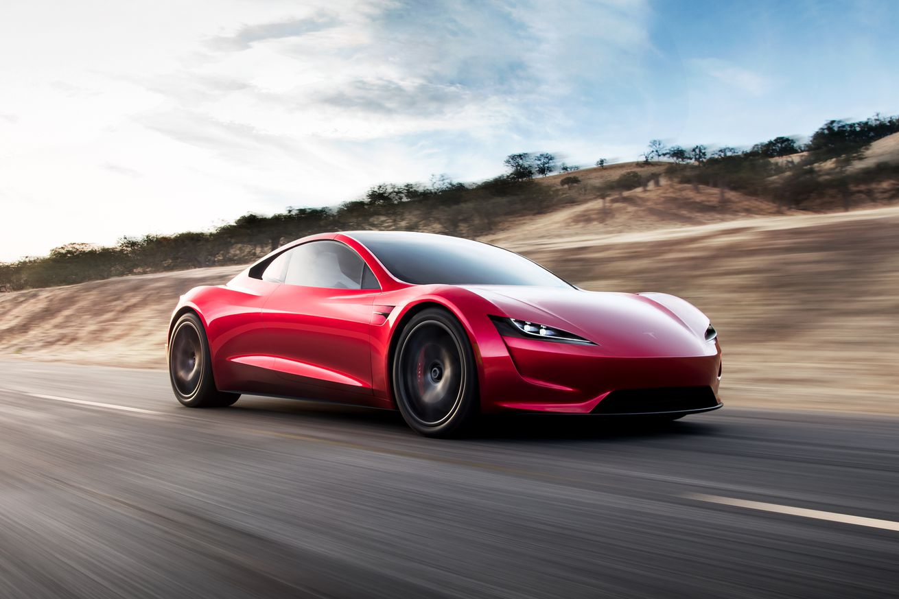 here s how elon musk might use rocket thrusters on the new tesla roadster