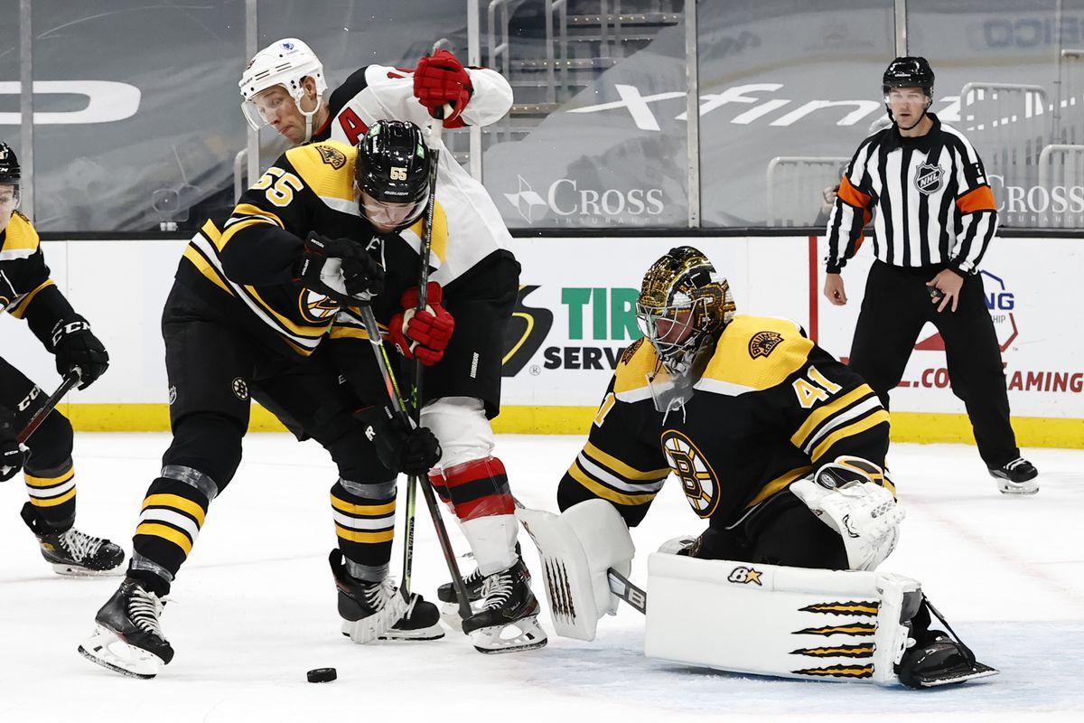 NHL: MAR 28 Devils at Bruins