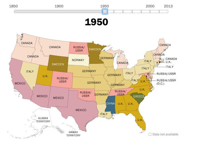 Us Map 1920.160 Years Of Us Immigration Trends Mapped Vox