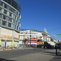 The Wrigley vistas will never be quite the same, all the open space is going fast