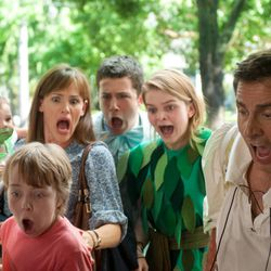 """Steve Carell, Jennifer Garner, Zoey/Elise Vargas, Kerris Dorsey, Dylan Minnette and Ed Oxenbould portray a family enduring a very bad day in the heartfelt and hilarious big-screen adaptation of Judith Viorst's 1972 children's book """"Alexander and the Terrible, Horrible, No Good, Very Bad Day,"""" which hits theaters Oct. 10, 2014."""